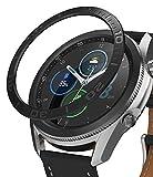 Ringke Bezel Styling Compatible con Funda Samsung Galaxy Watch 3 (45mm), Carcasa Diseño Elegante Único Aluminio para Galaxy Watch 3 45mm (2020) - Ink Black [45-07]