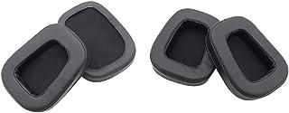 D DOLITY 4Pcs Soft Earphones Earpad Replacement Gaming Headset Ear Pad Cushion Earpads Cover Repair Parts for Logitech G533 G933 G633 G 633 933 Artemis Black