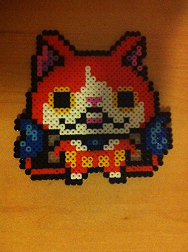 Pixel Art Perler Beads Yo Kai Watch Jibanyan