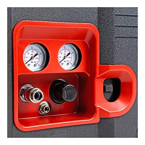STIER Systainer Kompressor SKT 160-8-6, ölfrei, 1.100 W Motorleistung, SysMaster kombinierbar mit anderen Systainern, Druckluft, Mobiler Kompressor - 6