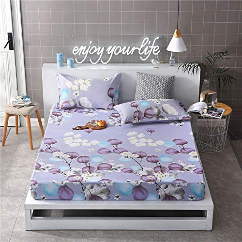 GTWOZNB Ultra Soft Hypoallergenic Microfiber Quilt Cover Sets All-inclusive bed sheet-32_120cm×200cm