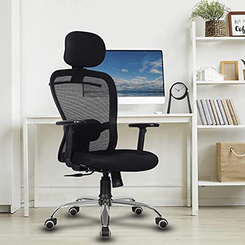 Green Soul ® Crystal High-Back Mesh Office Executive Ergonomic Chair (Black)