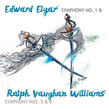 Edward Elgar: Symphony No. 1 & Ralph Vaughan Williams: Symphony Nos. 5 & 6