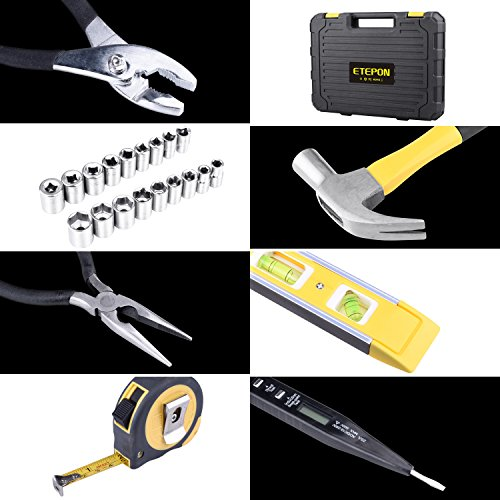 78pcs Mallette à Outils pour Réparation à Domicile avec Etui de Rangement pour Boîte à Outils (ET016)