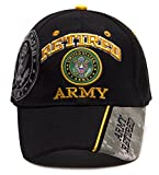 United States Army Retired Shadow Adjustable Cap - Black