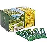 Zen no Megumi green tea powder Organic Japanese stick 100 pieces made in Japan shizuoka