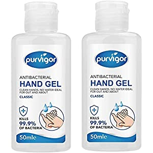 Purvigor Hand Sanitizer Gel 50 ML