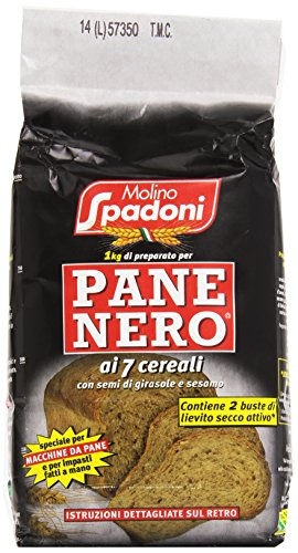 Molino Spadoni Farina 1Kg Pane Nero