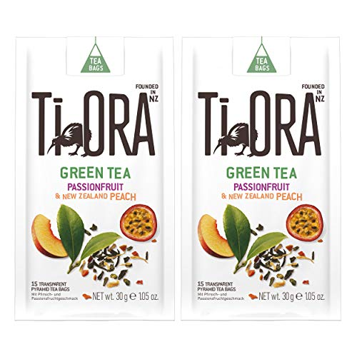 Ti Ora Green Tea, Grüner Tee, Grüntee, Teegetränk, Getränk, 30 Teebeutel, á 2.5 g