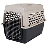 Petmate Vari Kennel Heavy-Duty Dog Travel Crate No-Tool Assembly, 32' Long,...