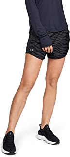 Under Armour Women's Fly-by Printed Running Shorts