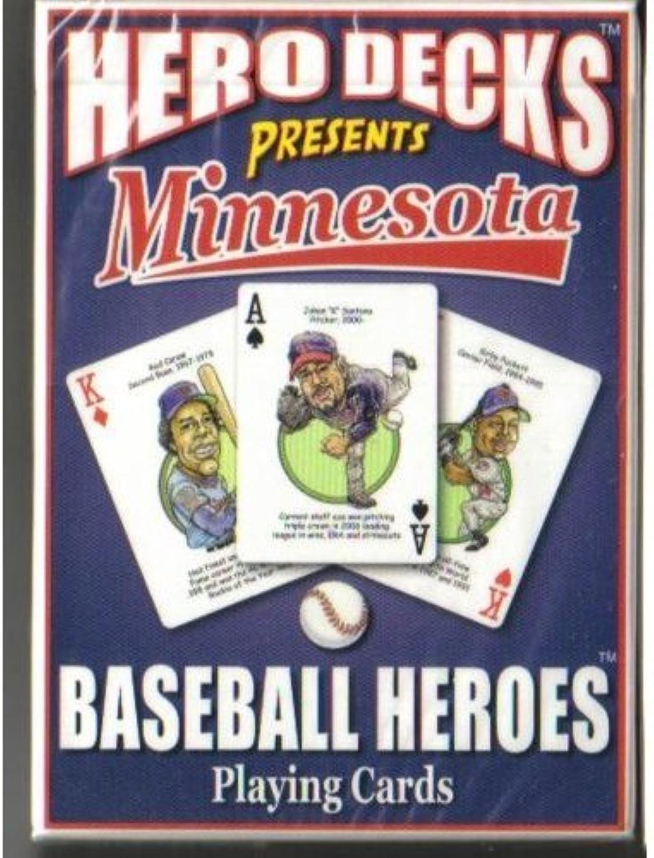 Hero Decks  Minnesota Twins  Playing Cards