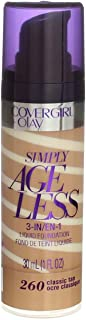 Covergirl & Olay Simply Ageless 3-in-1 Liquid Foundation, Classic Tan