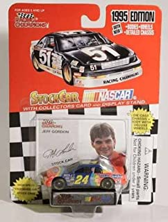 Racing Champions 1995 Edition Jeff Gordon 24 Dupont Nascar Die Cast Collectible