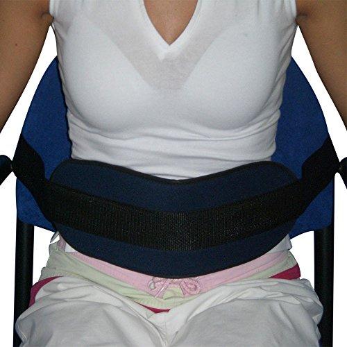 Bauchgurt für Stuhl, Sessel oder Rollstuhl | anpassungsfähig an alle Sessel und Rollstühle