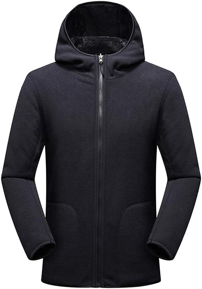 Winter Men Outwear Thick Coral Reversible Parkas Coat Male Streetwear Techwear