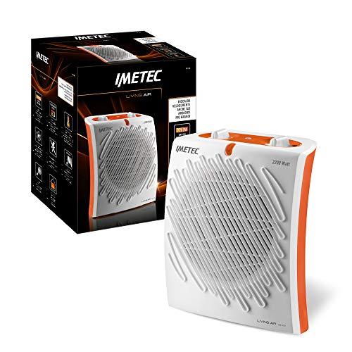 Imetec Living Air M2-100 Termoventilatore, 2200 W, 3 Livelli di Temperatura, Termostato...
