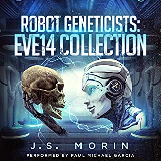 Page de couverture de Robot Geneticists: The Complete Collection, Books 1-6