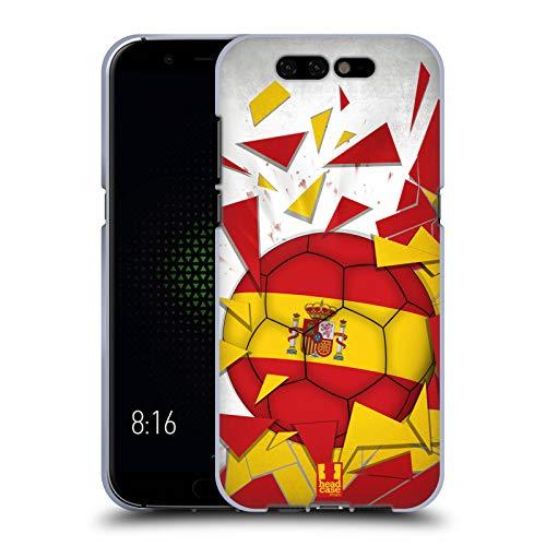Head Case Designs España Saltos de Fútbol Carcasa de Gel de Silicona Compatible con Xiaomi Black Shark