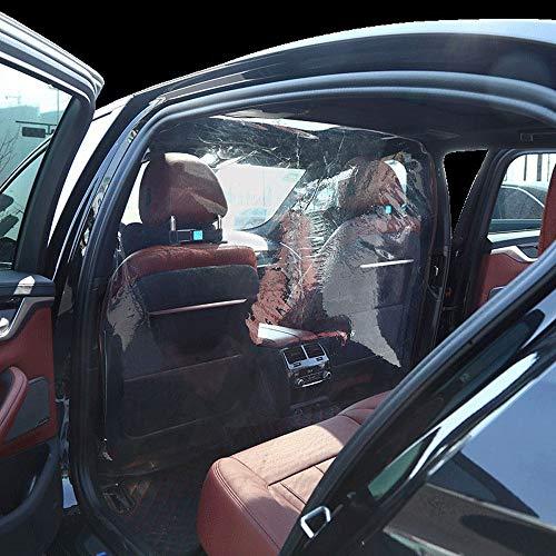 Auto-beschermfolie Transparante bescherming, Transparante zelfklevende taxi-isolatiefilm, Beschermhoes voor scheidingswanden, Bescherming tegen rook, Speeksel voor bestuurder en voorpassagier,A