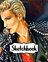 Sketchbook: Ann Lennox OBE The Most Excellent Order of the British Empire Scottish Pop Rock Singer-Songwriter Brits Champion of Champions, Inexpensive ... A Large Sketchbooks For Drawing And Writting