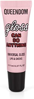 Queendom Gloss Can Do Anything Lip Gloss | Universal Shimmery Gloss | Vegan, Cruelty Free, Paraben Free