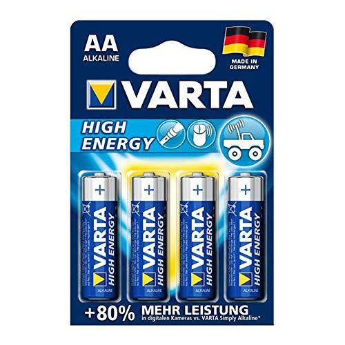 cellePhone Batterie ZN/MNO2 kompatibel mit Varta High Energy 4906 AA Mignon HR6 LR6-4er Blister