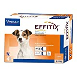 Effitix Spot-On Petit Chien (4-10 kg) - 4 pipettes