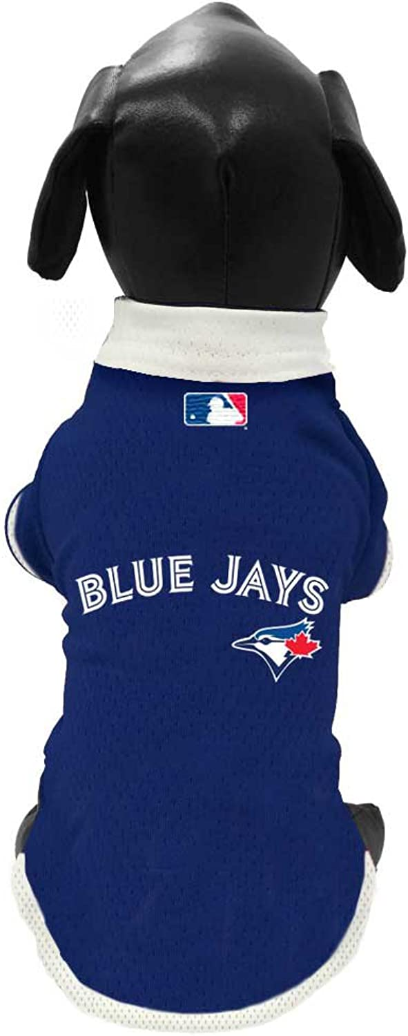 All Star Dogs Official Tgoldnto bluee Jays Mesh Jersey, Tiny