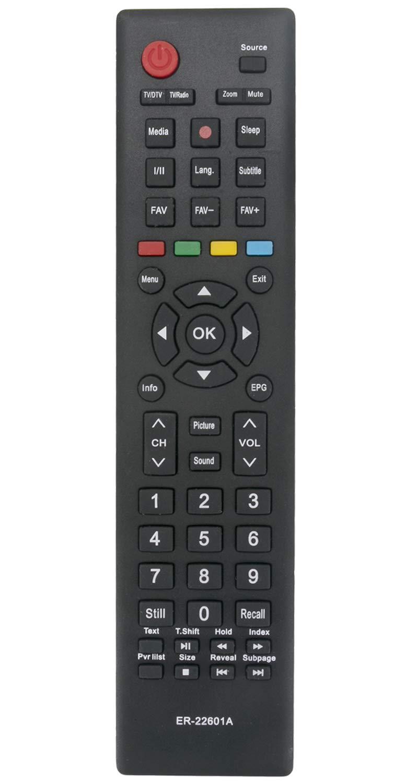 ALLIMITY ER-22601A Control Remoto reemplazado Apto para Hisense TV H40M2100C LHD24D33EU LHD32D33TUK LTDN40D50EU H43N2100C LHD24D33SEU LHD32D50EU LHD24W26CEU LHD32A300JEU: Amazon.es: Electrónica