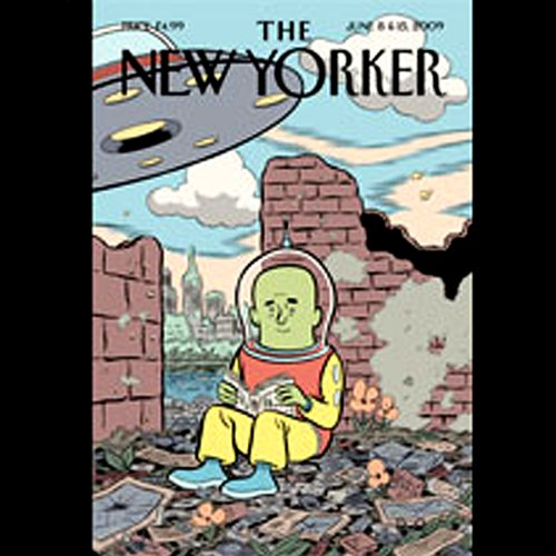 The New Yorker, June 8th & 15th, 2009 audiobook cover art