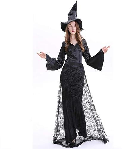 precios bajos todos los dias Fashion-Cos1 Disfraz de Bruja de Horror Horror Horror mujeres Adultas Traje de Momento mágico Bruja Disfraz de Halloween (Talla   M)  promociones de descuento