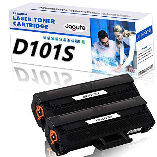 Jagute D101S Compatibile Cartucce di Toner Sostituzione per Samsung MLT-D101S 101S ML-2160 ML-2162 ML-2166 ML-2167 ML-2168 SCX-3400 SCX-3401 SCX-3405 SCX-3406 SCX-3407 SF-760 (2 Schwarz)