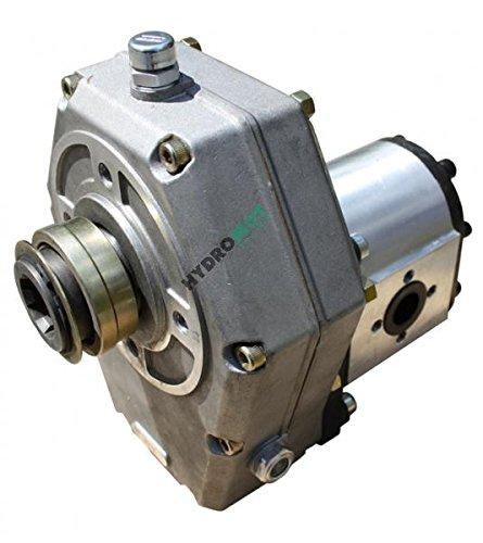 Zapfwellengetriebe Hohlwelle Schnappring mit Hydraulikpumpe (Zahnradpumpe BG 2), Schluckvolumen wählbar Größe 25 ccm