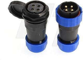 HangTon HE29 Electrical Equipment Circular Industrial Waterproof High-Voltage Connector (4 pin)