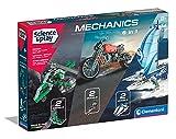 Clementoni- Science & Play Build-Mechanics 6 in 1 mecánica a Partir de 8 años, 6 Modelos, construcción Stem, Juego científico-Fabricado en Italia (97861)