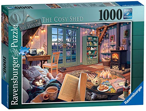 Ravensburger My Haven No.6 The Cosy Shed 1000 Piece Jigsaw Puzzle for Adults & for Kids Age 12 and Up