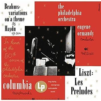 Brahms: Variations on a Theme by Joseph Haydn, Op. 56a - Liszt: Les Préludes, S. 97 (Remastered)
