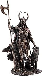 "13.75"" Norse God Loki Viking Statue Sculpture Myth Figure Figurine Sculpture"