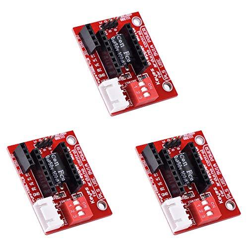 Ximimark A4988 DRV8825 3D Printer Stepper Motor Driver Control Extension Shield Board 3Pcs