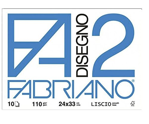 Viscio Trading 122860 Album Fabriano, Carta, Bianco, 2x33x24 cm, 10 unità