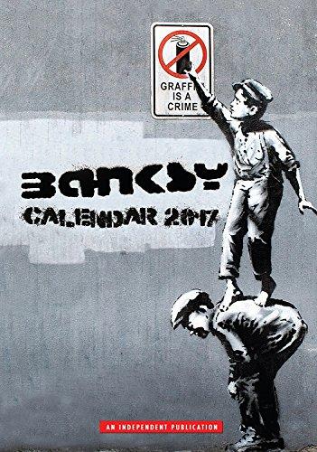 Banksy Calendar - Calendars 2016 - 2017 Wall Calendars - Modern Art Calendar - Poster Calendar - Monthly Calendar by Dream