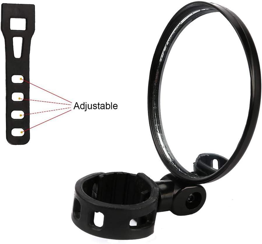 E Bike Bicycle Bike Accessories Bike Accessories Kit QHJ 2Pcs Bicycle Mirrors for Handlebars 360/° Horizontal Rotation180/°Vertical Bracket Bike Accessories Women Men