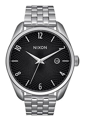 Nixon A418-000-00 - Reloj de Mujer (Cuarzo, analógico, Correa de Acero Inoxidable), Color Plateado
