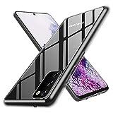 ANEWSIR Cover per Samsung Galaxy S20 (6.2'), Protezione Posteriore in Vetro Temperato 9H con...