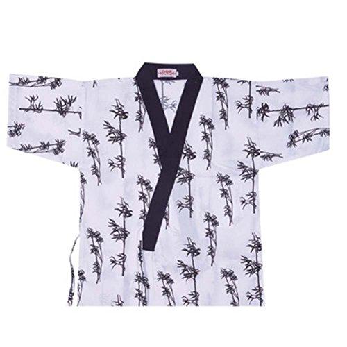Japanische Sushi Bar Restaurant Bar Kleider Kellner halbe Ärmel Uniform Chef Jacket, 11