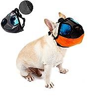Petbox® pour animal domestique Chien Muselière réglable avec Buckle-anti écorce Bite Dog Masque de bouche pour court Nez–Flat Face Chiens
