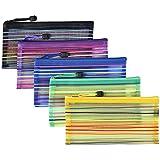 SUPPORTI DI STOCCAGGIO VERSATILI - Il sacchetto di documento può essere usato dai bambini e dagli adulti. Ideale per lo stoccaggio di documenti importanti, elettrodomestici, libri più piccoli e altri. Può anche agire come una borsa, borsa penna, docu...