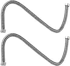 Cabilock 2 Stuks Metalen Doucheslang Roestvrijstalen Vervangingsslang Voor Handdouchekoppen Vervangende Connector 1. 2 M
