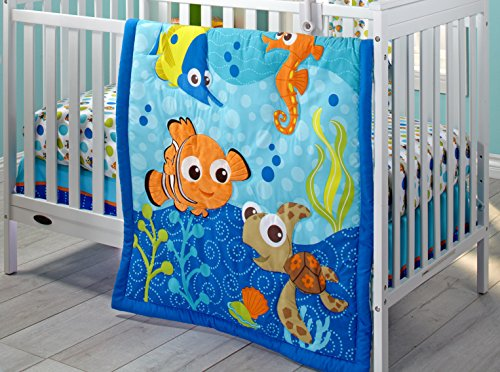 Great Features Of Disney Nemo 3 Piece Crib Bedding Set